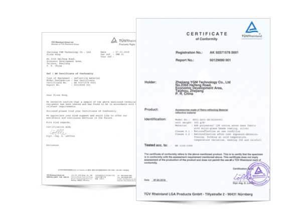 TUV Certifications