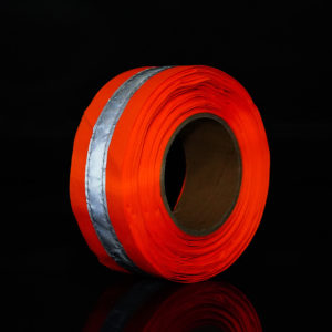 Orange Woven Tape