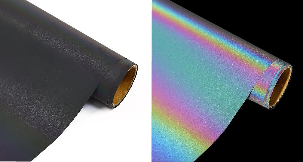 Rainbow Reflective Heat Transfer Vinyl