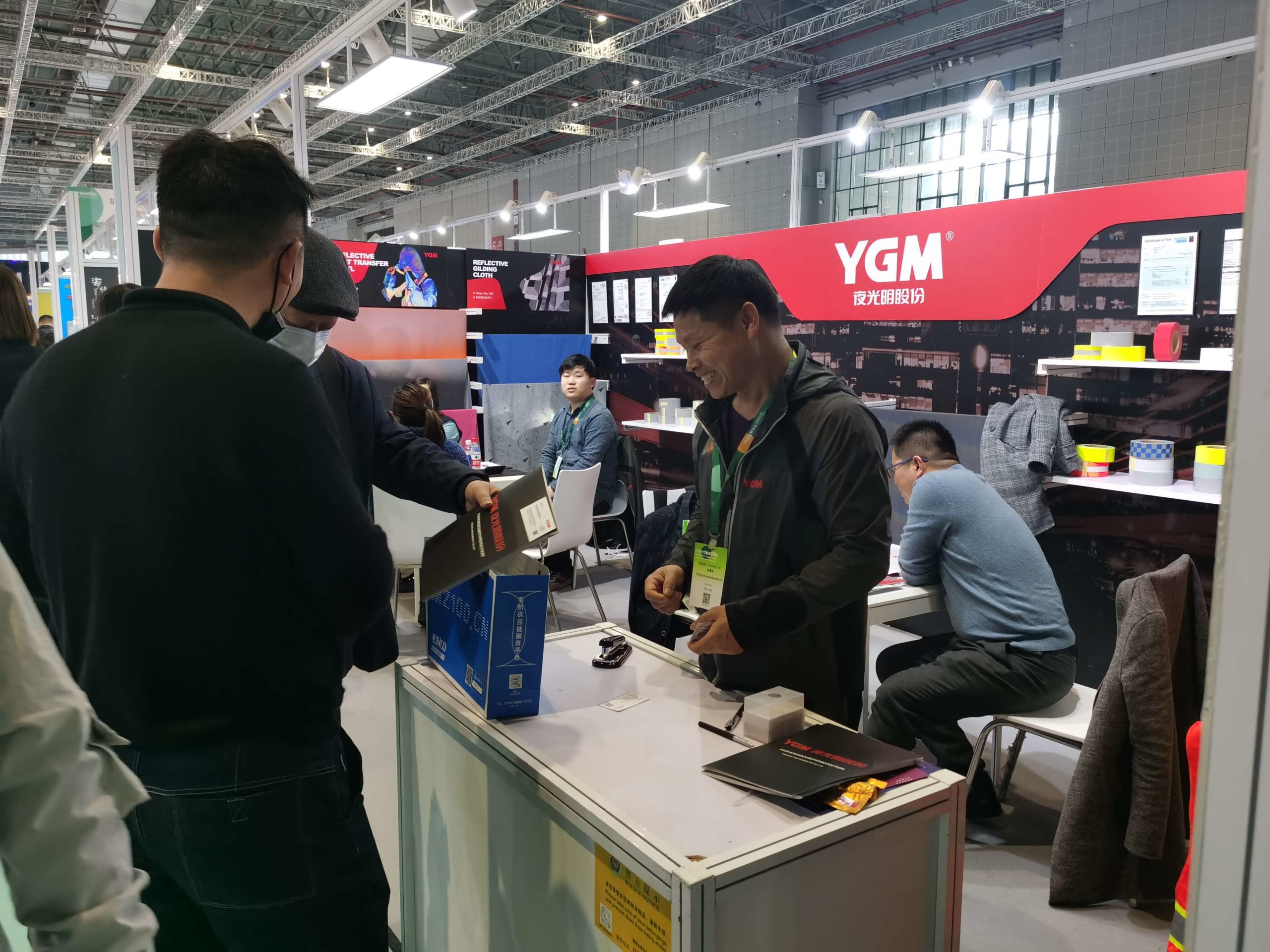 YGM reflective on intertextile2021 Trade Show (5)
