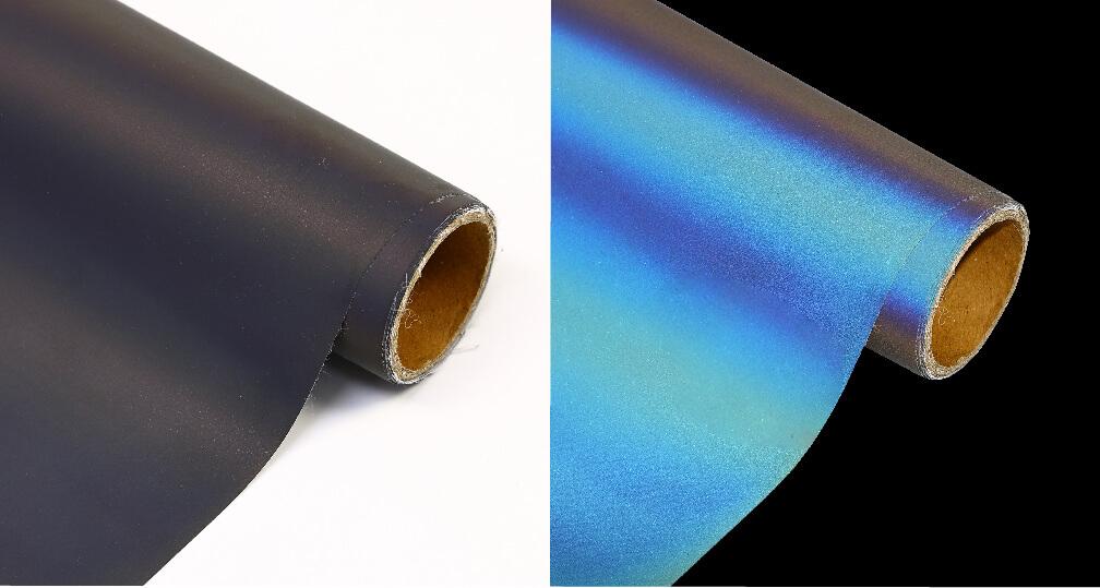 black Rainbow Reflective Heat Transfer Vinyl