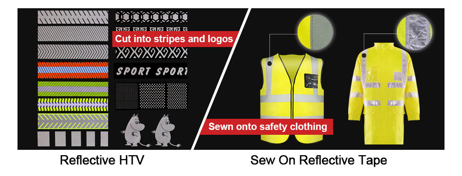 Use Of Sew On Reflective Tape