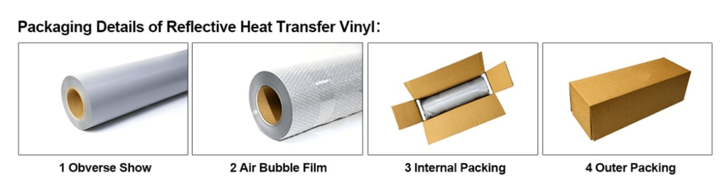 packing of reflective fabric tape 2