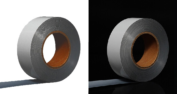 4. Iron on silver reflective tape for clothing