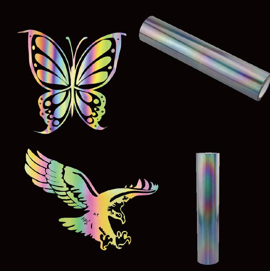 12. Rainbow Hi Vis Iron On Tape