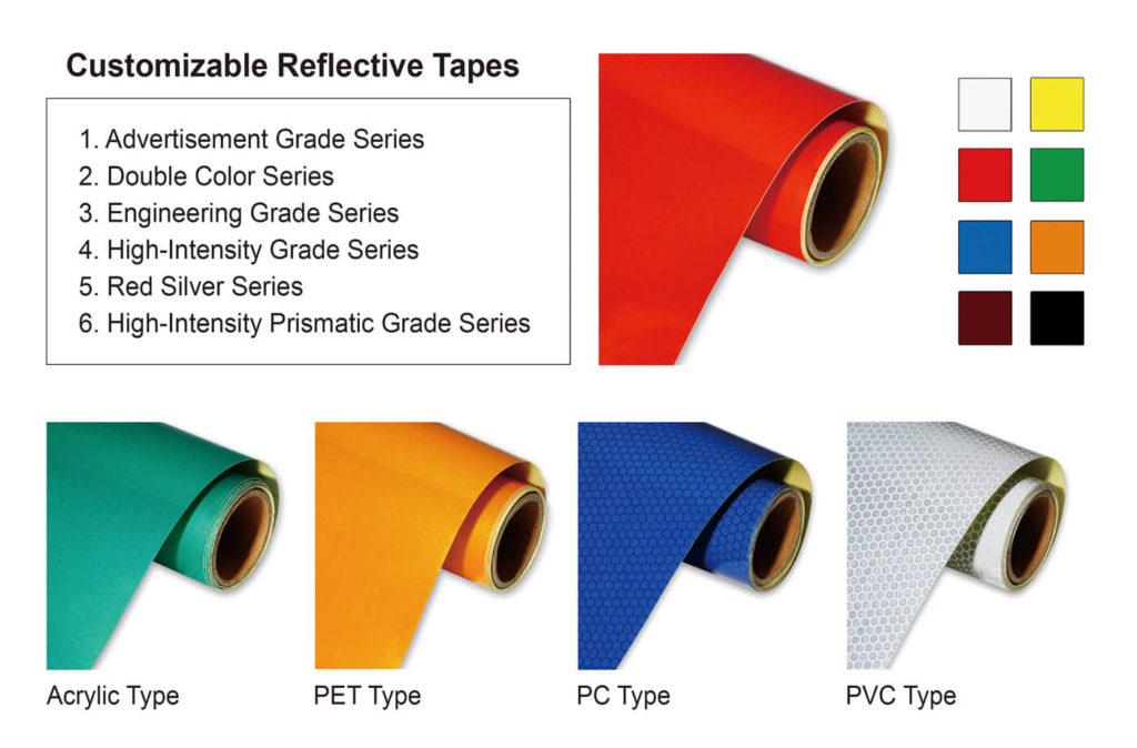 Customization of Reflective Tape