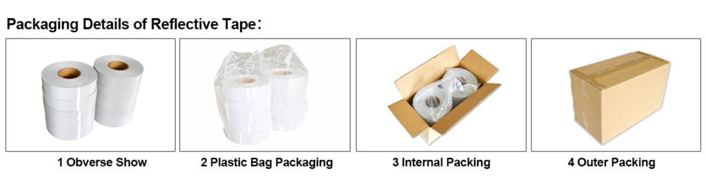 Packing of Reflective Tape