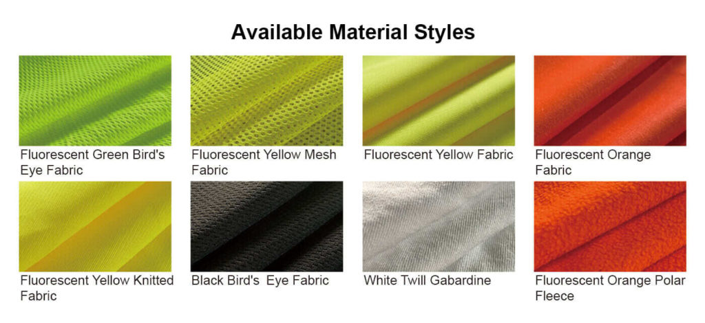 Materials of Custom Safety Vests