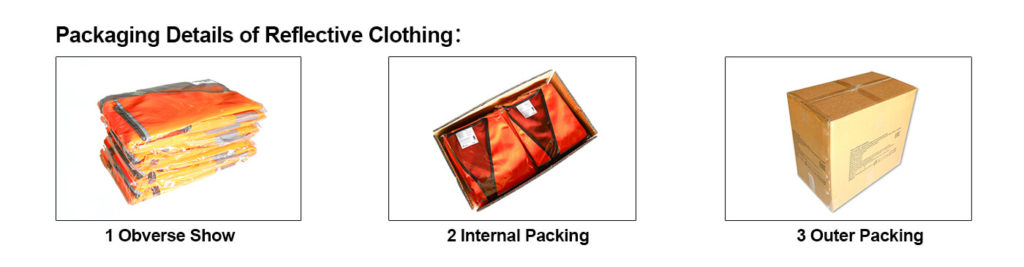 Packing of Safety Jackets Manufacturers