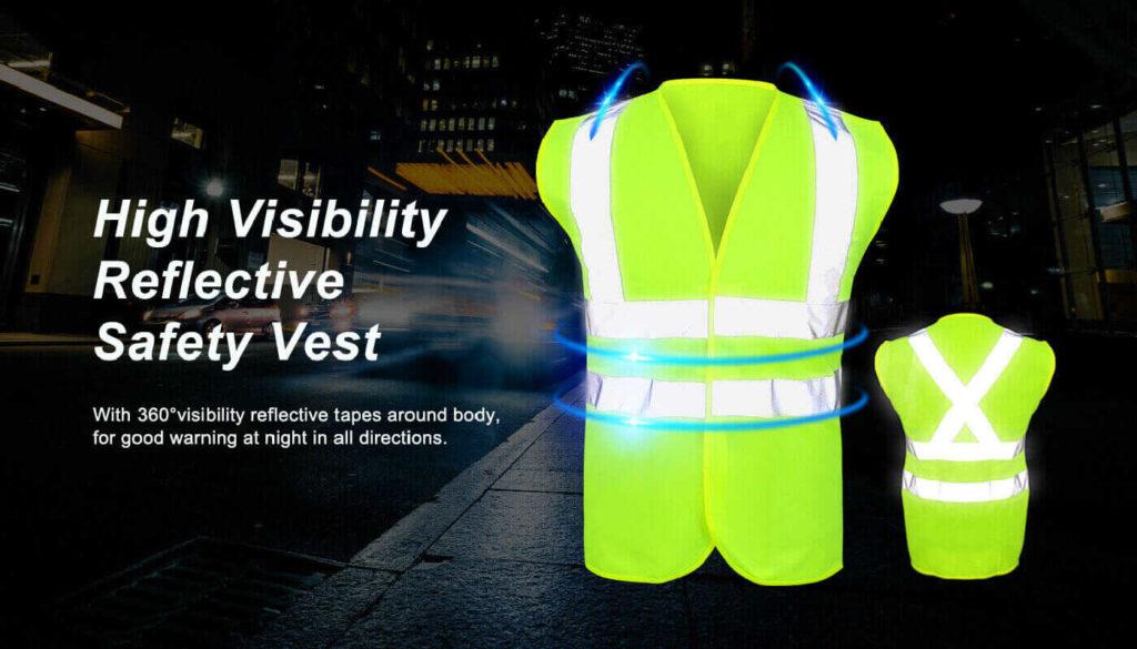Reflectivity of Custom Safety Vests