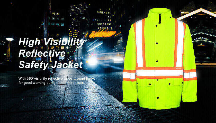 Reflectivity of Safety Clothing Supplier